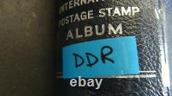 Germany GDR loaded stamp collection in Scott International album to 1983