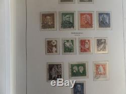 Germany MH/MNH/Used Collection 1951-1982 Ka-Be Hingeless Album Largely Complete