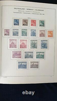 Germany Occupation Collection in SCHAUBEK Album #4600
