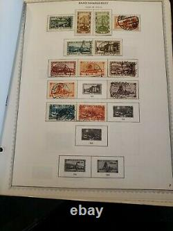 Germany Stamp Album collection hinged