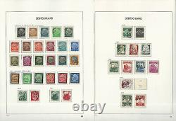 Germany Stamp Collection in Davo Hingless Album, 1872-1945, 70 Pages, JFZ