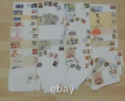 Glory Box Worldwide Stamps Albums Collections Covers Mint used 1000s Clean Lot