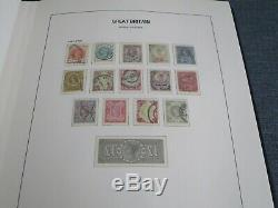 Great Britain 1840 -1970 Collection In Stanley Gibbons Davo Luxury Album