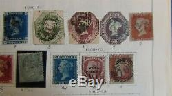 Great Britain loaded stamp collection in Scott International album to 1983