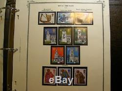 Great Britain stamp collection in Scott specialty album