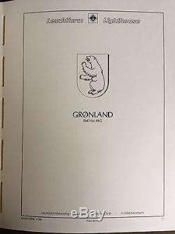 Greenland 1938-2001 100% compl MNH collection in album incl. 1945 liberation set