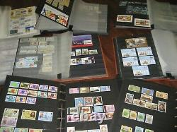 Guernsey Jersey Isle Of Man 9 Albums T0 2005 Collection Fv £1315 & Predecimal