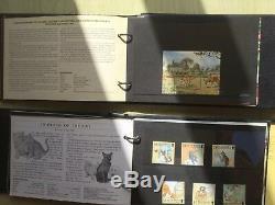Guernsey Presentation Pack Bumper Collection Over 100 Packs In 8 Albums Bargin