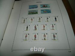 Guernsey Stamps Collection 1969 2000 In Davo Album