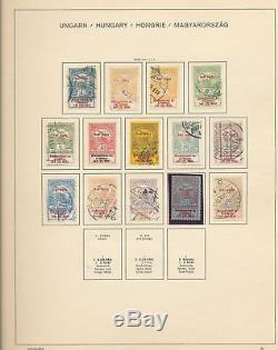 HUNGARY 1870s/1970s Two Schaubek Album M&U Collection(1500+)ALB210
