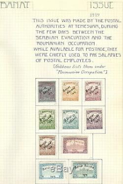 HUNGARY COLLECTION 1874-1935 Mint & Used in 2 albums