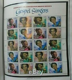 Harris Ambassador US stamp album collection 1995-98 mint NH $600 face value