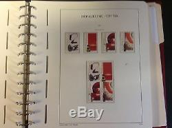 Hong Kong Collection 1996-2004 in Lighthouse Hingless Album, SCV Around $400