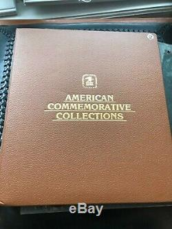 Huge Collection of American Commemorative stamps, 2 Albums, Estate Stamp Lot