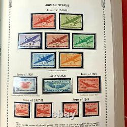 Huge Stamp Collection In Minkus Album All American Album 1851-1980