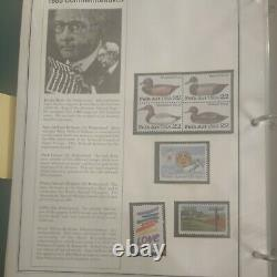 Huge United States stamp collection 1978 to 1997 in perfect mystic album. HCV++