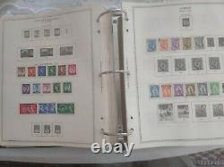 Huge worldwide stamp collection 1940s forward. Look at the size of this album