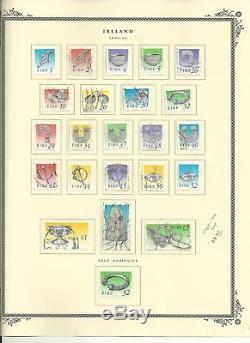 Ireland Collection 1922-2009 in Clean Scott Specialty Album With Binder