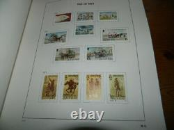 Isle Of Man Stamps Collection 1973 2000 In Davo Album