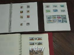 Isle Of Stamp Collection Miniature Sheets 1973-2014 MM Fv £1010 3 Albums