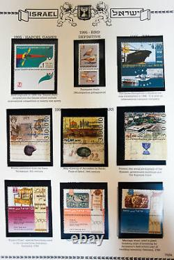 Israel Loaded Mint NH Stamp Collection 1995-2010 in Minkus Album