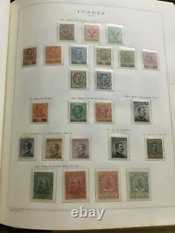 Italy Regno Extended Collection on Album pages Part 2 1901-1910 cv 6300$
