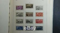 Italy thick stamp collection in Lighthouse hingeless album with 1150 stamps to'76