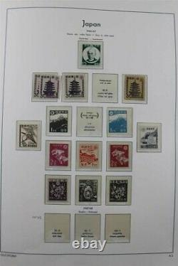 JAPAN MNH MH (MH) 1945-1974 Almost Complete Lighthouse Album Stamp Collection