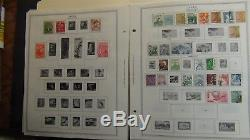 Japan stamp collection on Minkus album pages -'92 with 1,235 stamps or so