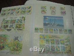 Jersey Stamp Collection 1969-2008 Mnh Fv Stamps £500 & Predecimal 3 Albums