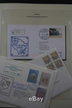 KOSOVO 2000-2011 Complete with Safe Luxus Album Stamp Collection