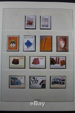 KOSOVO MNH 2000-2012 + Sheets 140+ Pages 3 Lindner Albums Stamp Collection