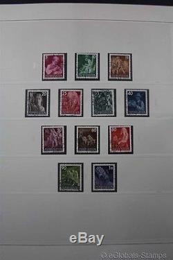 LIECHTENSTEIN Premium Stamp Collection USED CTO 1945-2014 3 SAFE Albums