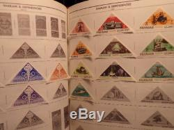 LOADED World COLLECTION in H. E. Harris Standard Album 6200+ stamps View 35 pix