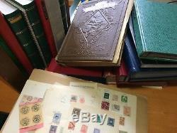 LOT #268 COLONIES EUROPE MONDE collection de timbres fiscaux albums en 2 cartons