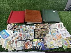 Large Collection Of British And Worldwide Postage Stamps, Vintage Stamps Albums