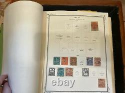 Large Mexico Stamp Collection In Scott Specialty Album 1856-1993 VERY NICE