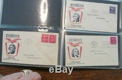 Large Stamp Collection Lot Various Estates 1861 Albums, Blocks First Day Issue
