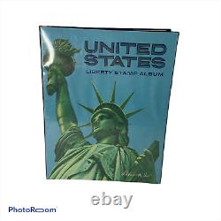 Large Us Collection In Harris Liberty Album 1851-1990 Hundreds Of Stamps I2