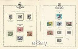 Liechtenstein Stamp Collection 1912-1974 in Minkus Specialty Album, 94 Pages