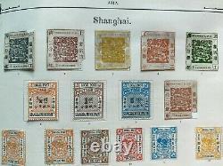 Lifetime Original Collection in Old Imperial Album Penny Blacks, China Huge CV