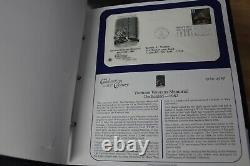 Lot of 2000s American Commemorative Collections Albums First Day Stamps & Covers