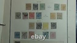 Luxembourg collection in Scott Specialty Album with 1,375 stamps or so to 2002