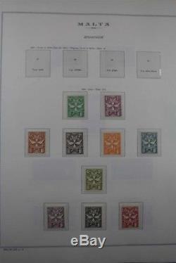 MALTA 1964-2014 Premium Stamp Collection + Sheets 3 Albums