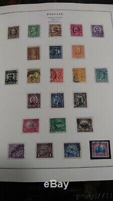 MD Scott NATIONAL stamp album Collection 50 pictures