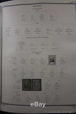 MEXICO Classic 1856-1980 Stamp Collection Scott Album Modern