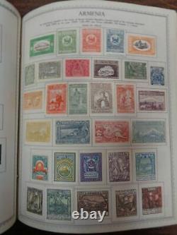 MINKUS Master Global 3 Volume WW & US Stamp Album Collection -1968 A-Z