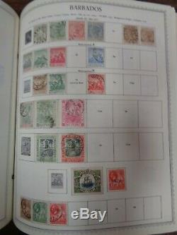 MINKUS SUPREME GLOBAL 8 volume Stamp Album collection 9,000+ stamps 1940-1973
