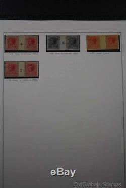 MONACO / Classic to Modern 1885-2010 Stamp Collection 4 Albums 380 Scans