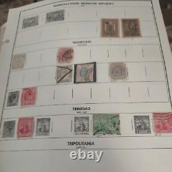 Magnificent worldwide stamp collection in Scott international album 1867 1976